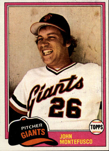 Photo of 1981 Topps #438 John Montefusco