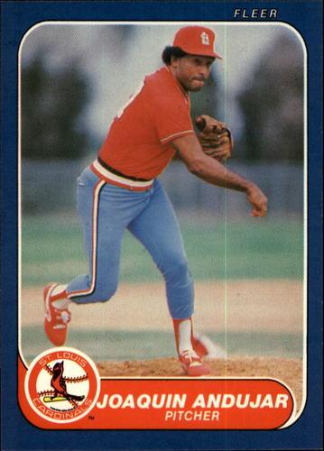Photo of 1986 Fleer #26 Joaquin Andujar
