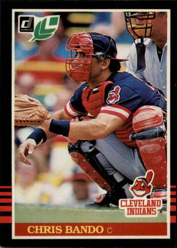 Photo of 1985 Leaf/Donruss #39 Chris Bando