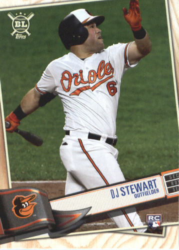 Photo of 2019 Topps Big League #57 DJ Stewart RC