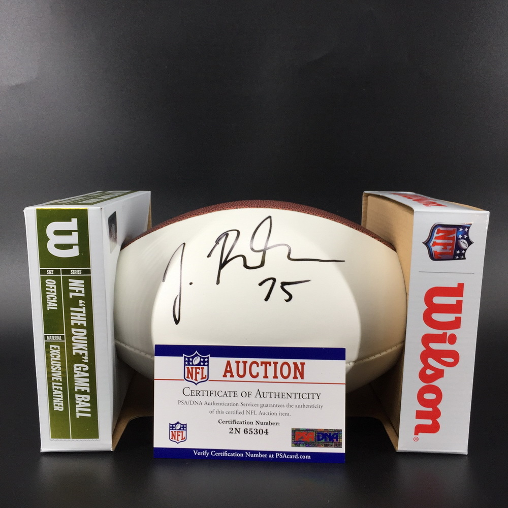 NFL - Browns Joel Bitonio Signed Panel Ball