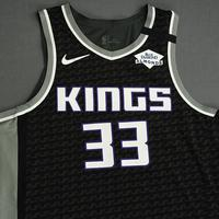 Jabari Parker - Sacramento Kings - Game-Worn Statement Edition Jersey - 1 of 2 - 2019-20 NBA Season Restart with Social Justice Message