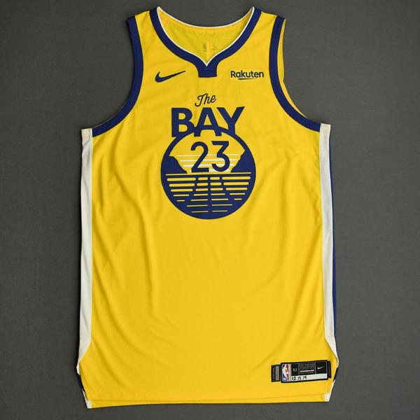 Image of Draymond Green - Golden State Warriors - Game-Worn Statement Edition Jersey - 2019-20 NBA Season