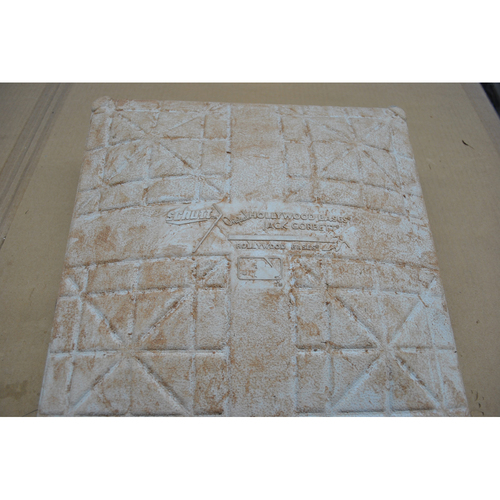 Photo of Game-Used 2nd Base - 2020 ALCS - Houston Astros vs. Tampa Bay Rays - Game 1-4, 6 - Used Innings 6-9 in Each Game