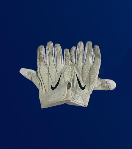 Photo of Morgan Fox Game Used Gloves - (11/29/2020 VS. San Francisco 49ers)