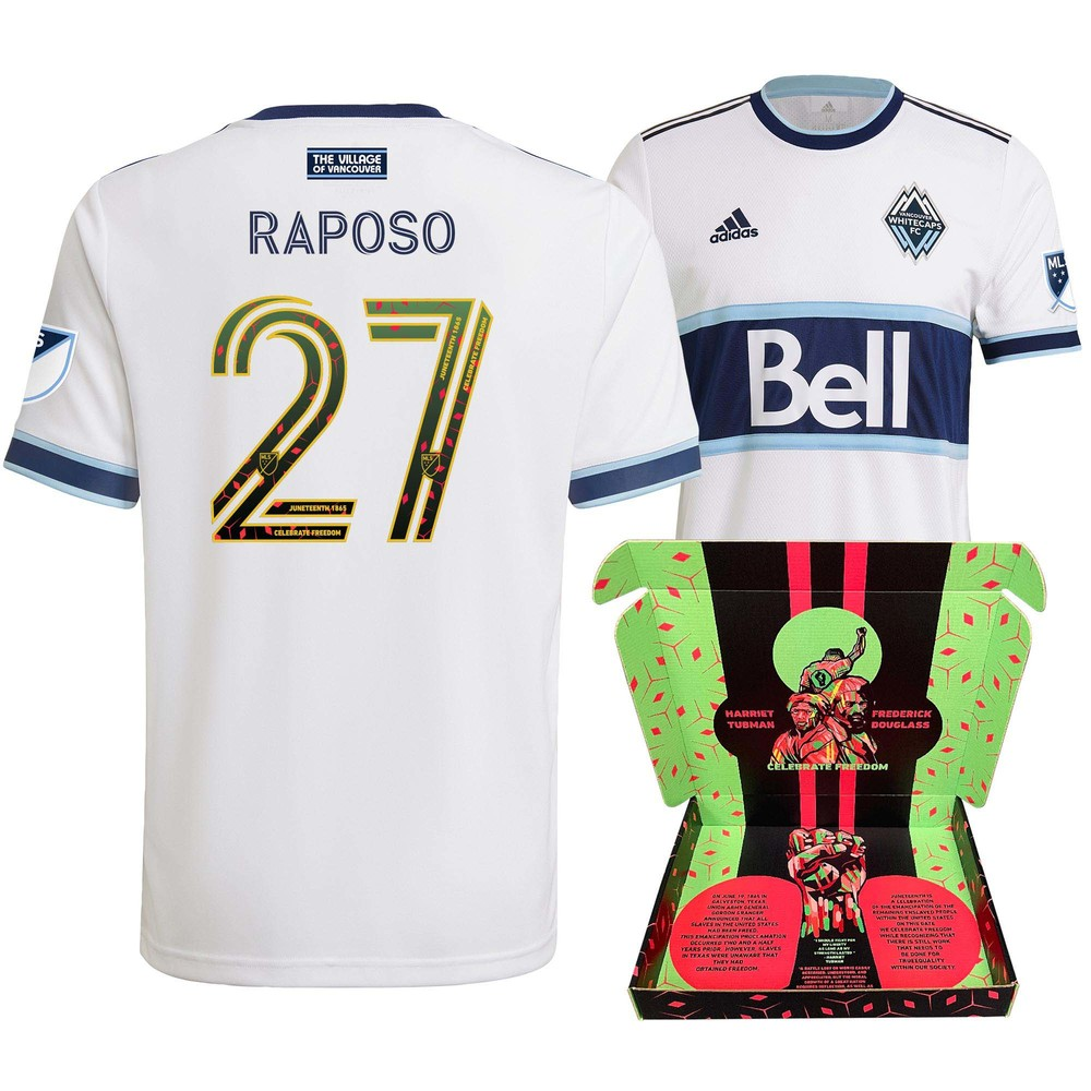 Ryan Raposo Vancouver Whitecaps FC Player-Issued & Signed