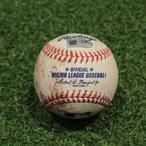 Photo of Game-Used Baseball: Willi Castro 67th Career Hit (DET@KC 9/25/20)