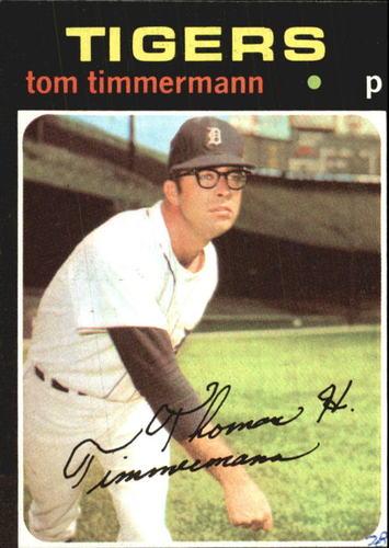 Photo of 1971 Topps #296 Tom Timmermann