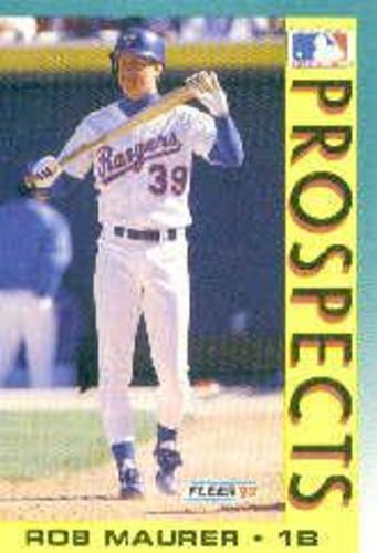 Photo of 1992 Fleer #659B Rob Maurer MLP COR RC