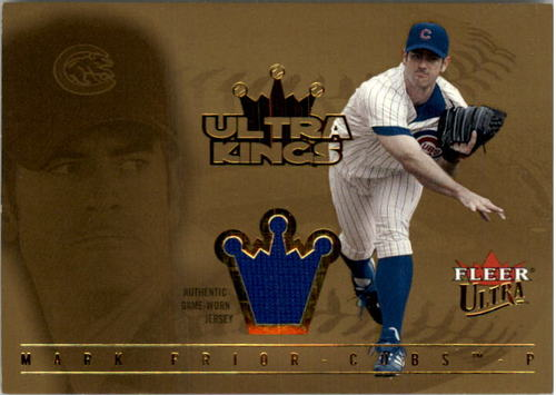 Photo of 2005 Ultra Kings Jersey Gold #MPR Mark Prior K