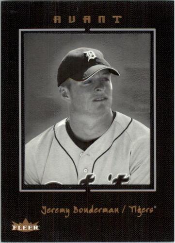 Photo of 2003 Fleer Avant Black and White #80 Jeremy Bonderman ROO