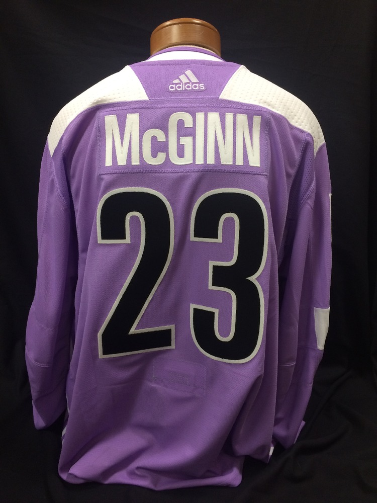 Brock McGinn  23 Autographed 91bc564d2