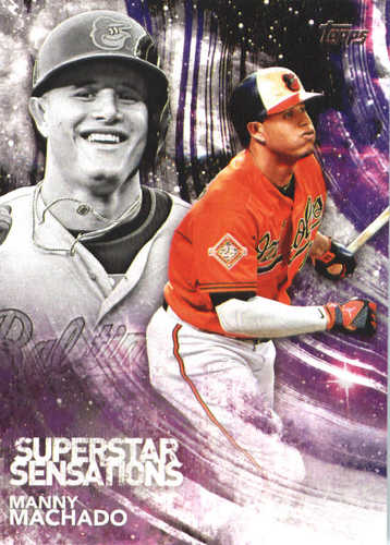 Photo of 2018 Topps Superstar Sensations #SSS9 Manny Machado