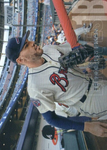 Photo of 2018 Stadium Club #232 Freddie Freeman