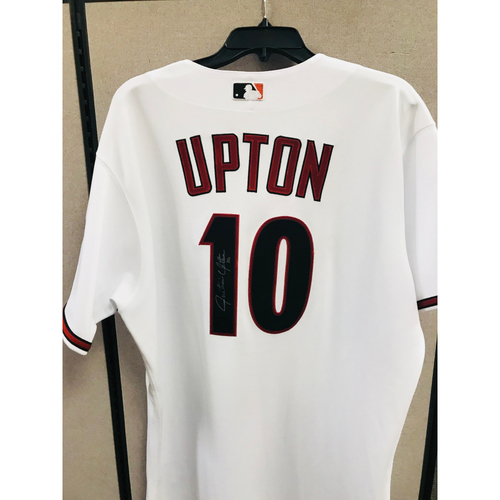 Photo of 2009 Justin Upton Autographed Jersey  - Size 48