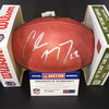Panthers - Christian McCaffrey Signed Authentic Football