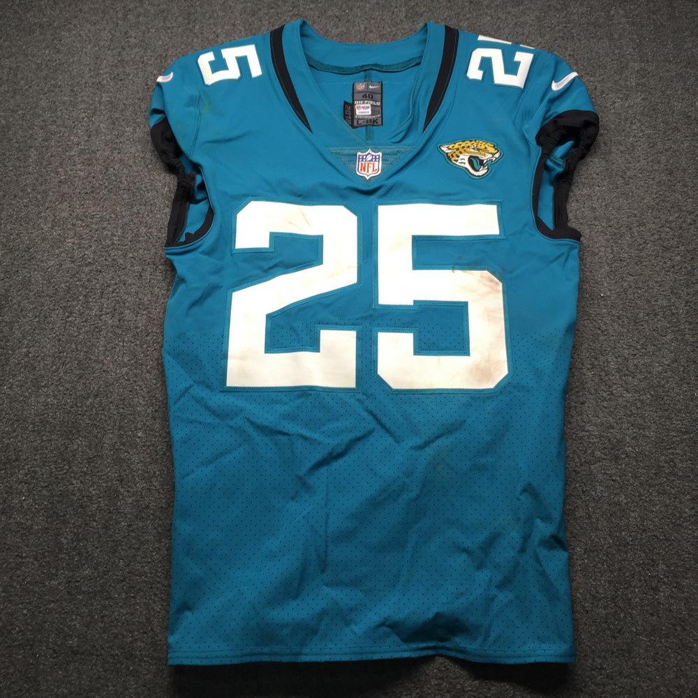 NFL Auction | Jaguars - D. J. Hayden 2018 Game Used Jersey Size 40