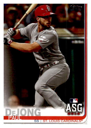 Photo of 2019 Topps Update #US54 Paul DeJong AS