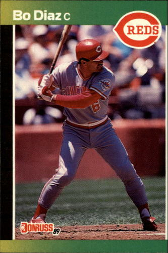 Photo of 1989 Donruss #242 Bo Diaz