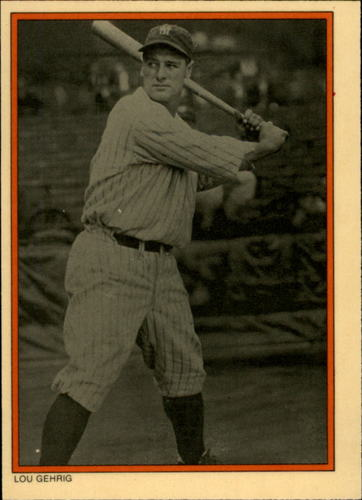 Photo of 1985 Circle K #14 Lou Gehrig