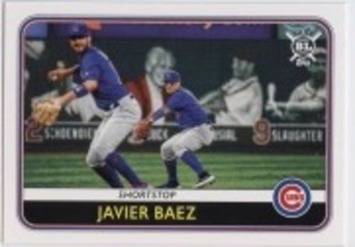 Photo of 2020 Topps Big League #93 Javier Baez