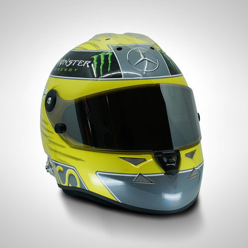 Photo of Nico Rosberg 2013 1:1 Replica Helmet