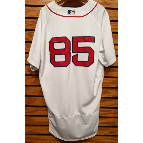 Photo of Gutierrez #85 Team Issued Home White Jersey
