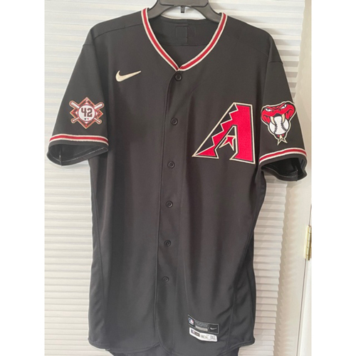 Photo of Josh Rojas 2020 Team-Issued Jackie Robinson Day Jersey (Size 42)