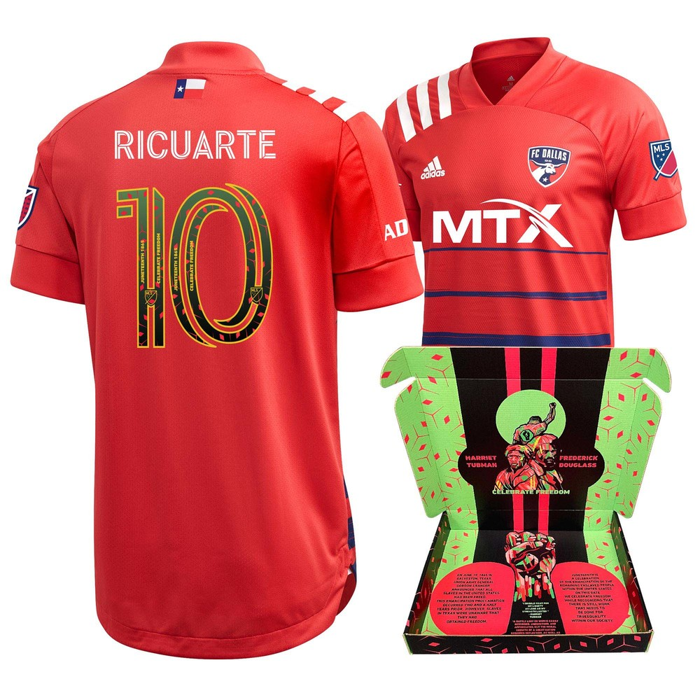 Andres Ricuarte FC Dallas Match-Used & Signed