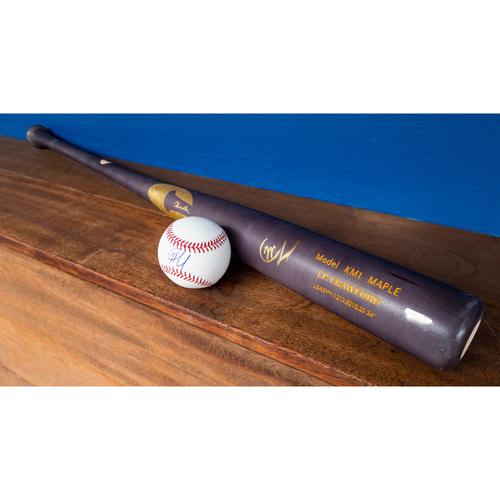 Photo of Charity Night: JP Crawford Autographed Bat & Baseball