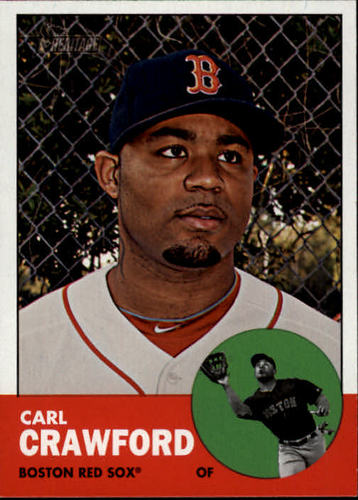 Photo of 2012 Topps Heritage #96A Carl Crawford
