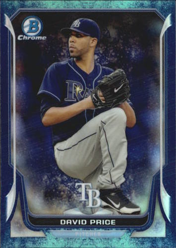 Photo of 2014 Bowman Chrome Bubble Refractors #50 David Price