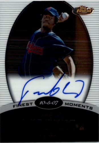 Photo of 2008 Finest Finest Moments Autographs #FC Fausto Carmona A