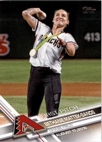 Photo of 2017 Topps First Pitch #FP17 Bethanie Mattek-Sands