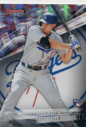 Photo of 2016 Bowman's Best Refractors #25 Corey Seager