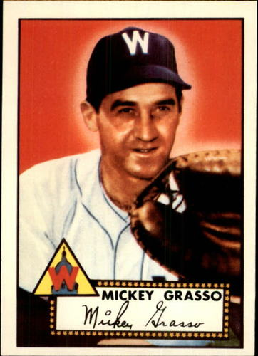 Photo of 1983 Topps 1952 Reprint #90 Mickey Grasso