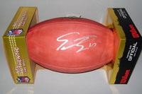 NFL - BRONCOS EMMANUEL SANDERS SIGNED AUTHENTIC FOOTBALL