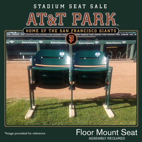 Photo of San Francisco Giants - AT&T Park Luxury Box Stadium Seat Sale - Floor Mount