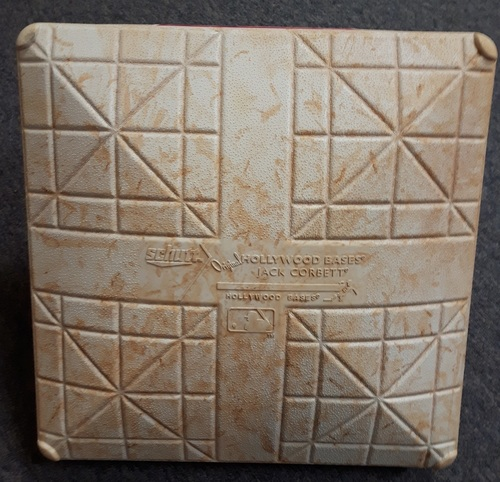 Photo of Authenticated Game Used Mother's Day Base - 2nd Base for Innings 1 to 3 (May 13, 2018 vs Boston Red Sox)