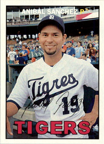 Photo of 2016 Topps Heritage #106 Anibal Sanchez