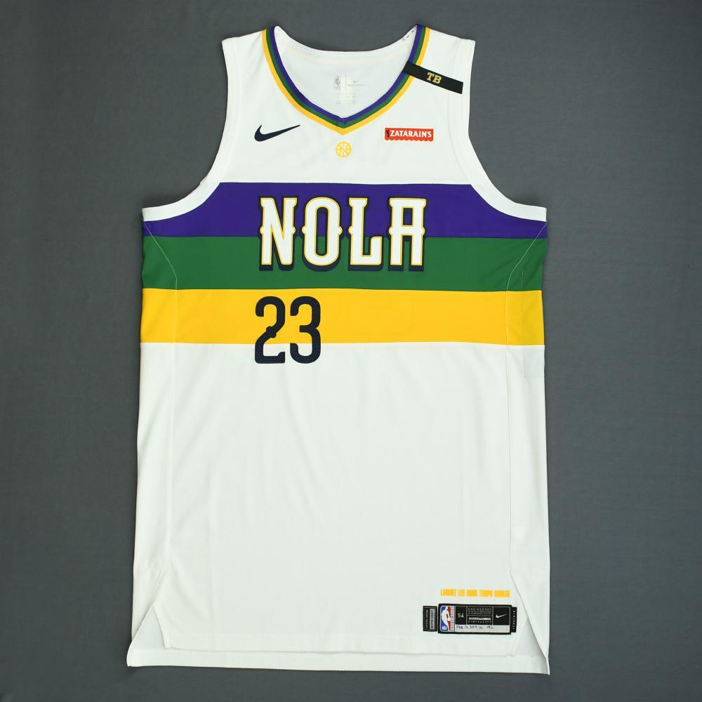 Anthony Davis - New Orleans Pelicans - Game-Worn City Edition Jersey - 2018-19 Season