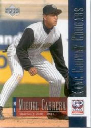 Photo of 2001 Upper Deck Minors Centennial #77 Miguel Cabrera
