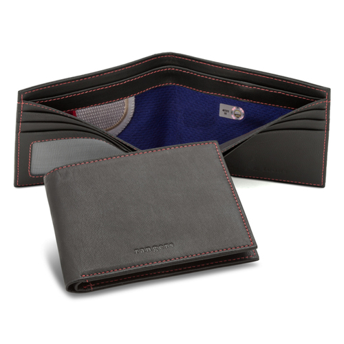 Photo of Tokens & Icons Texas Rangers Game Used Uniform Wallet
