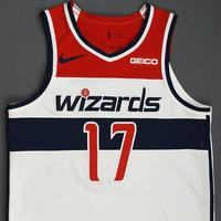 Isaac Bonga - Washington Wizards - Kia NBA Tip-Off 2019 - Game-Worn Association Edition Jersey - Wizards' Debut