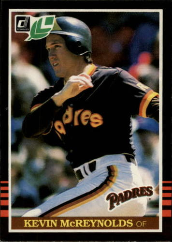 Photo of 1985 Leaf/Donruss #43 Kevin McReynolds