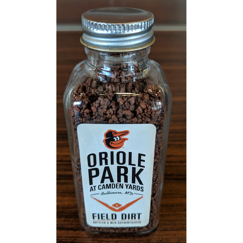 Photo of Oriole Park at Camden Yards Game-Used Dirt Jar