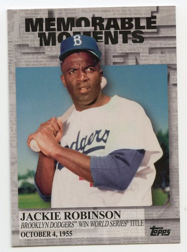 Photo of 2017 Topps Memorable Moments #MM17 Jackie Robinson