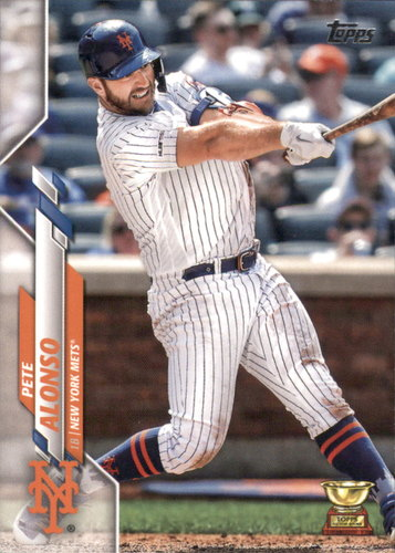 Photo of 2020 Topps #350 Pete Alonso CUP