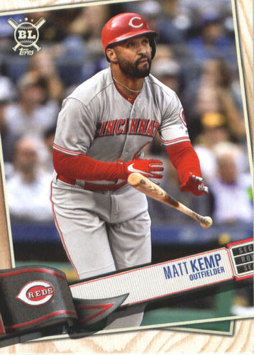Photo of 2019 Topps Big League #65 Matt Kemp