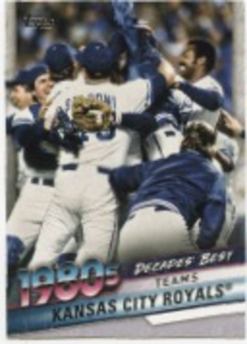 Photo of 2020 Topps Decades' Best Series 2 #DB56 Kansas City Royals